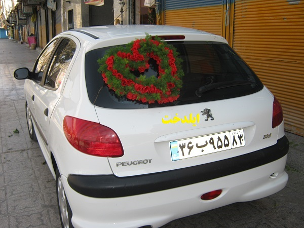 Photo of نمونه کارهای تزئین ماشین عروس ایلدخت