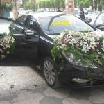 نمونه کارهای جدید تزئین ماشین عروس ایلدخت 94-95