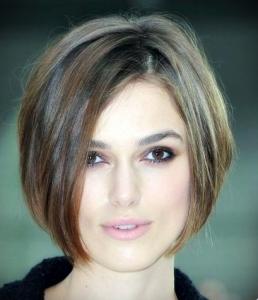 مدل موی متوسط زنانه برای موهای لخت