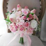 مدل های دسته گل عروس نگین دار ایرانی 99