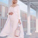 ۲۰ مدل مانتو بارداری بلند شیک و جذاب