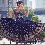 مدل لباس هندی دخترانه در انواع استایل های جذاب مجلسی